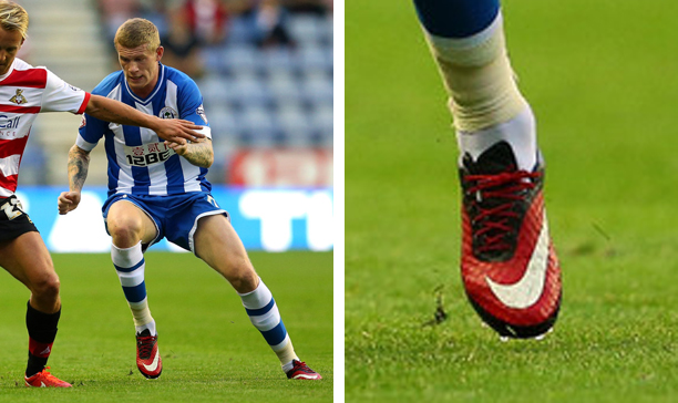 James McClean Wigan custom Hypervenom edited