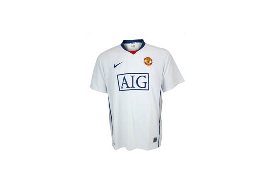 2008-09 Manchester United Away Jersey