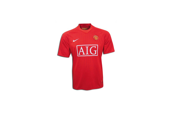 2008-09 Manchester United Home Jersey