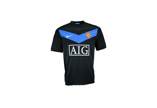 2009-10 Manchester United Away Jersey