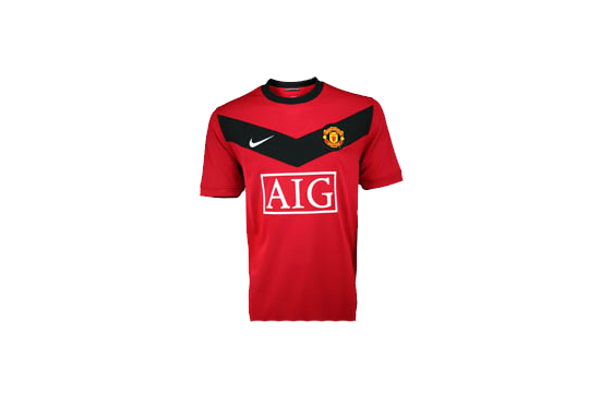 2009-10 Manchester United Home Jersey