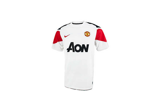 2010-11 Manchester United Away Jersey