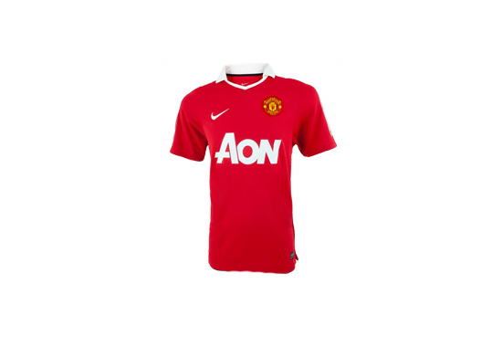 2010-11 Manchester United Home Jersey