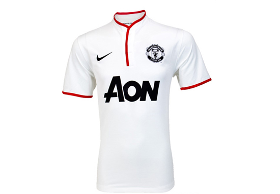 2012-13 Manchester United Away Jersey
