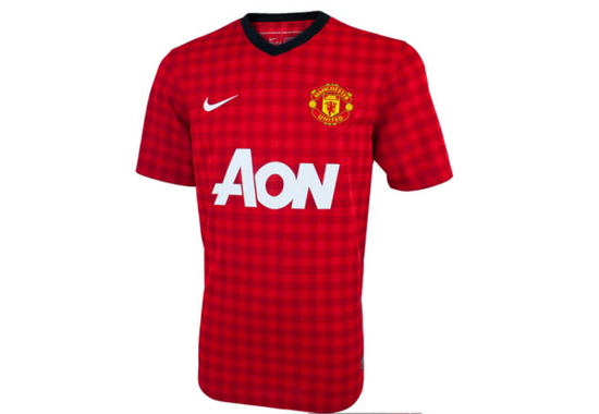 2012-13 Manchester United Home Jersey