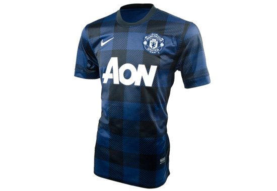 2013-14 Manchester United Away Jersey
