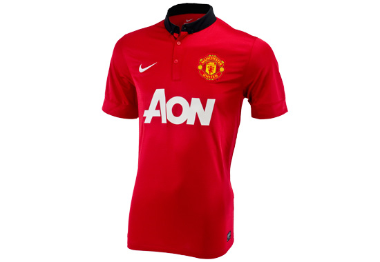 2013-14 Manchester United Home Jersey