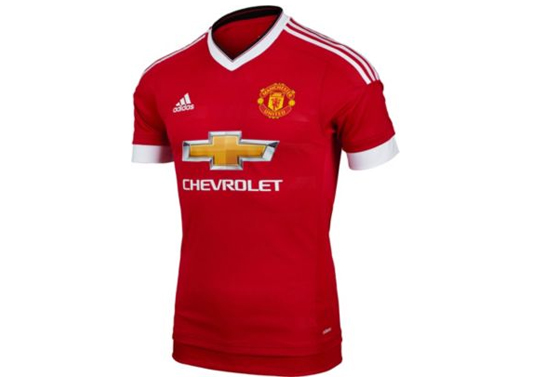 2015-16 Manchester United Home Jersey