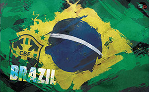 Brazil Soccer Desktop Wallpaper