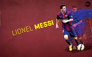 Lionel Messi Soccer Desktop Wallpaper