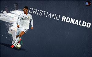 Cristiano Ronaldo Soccer Desktop Wallpaper