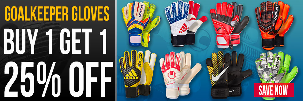 Keeper Gloves: Buy 1 Get 1 25% Off