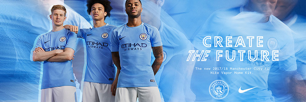 Manchester City FC Nike Vapor Kit