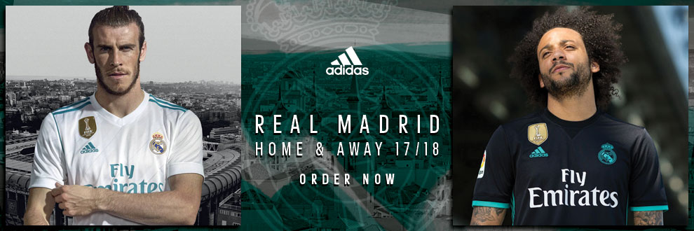 Real Madrid Home & Away Jerseys