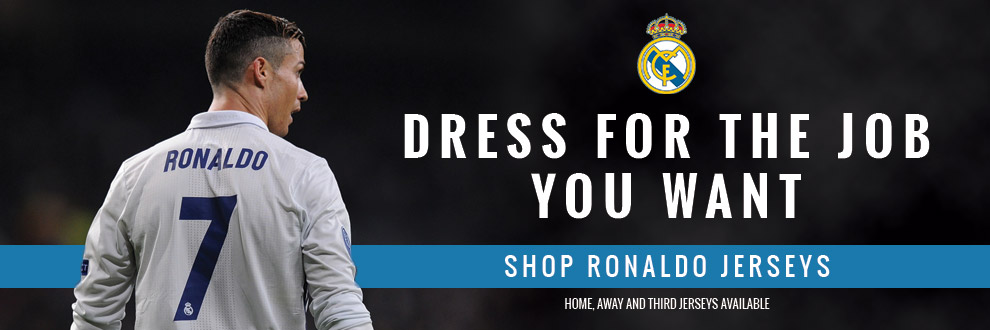 Shop Ronaldo Jerseys