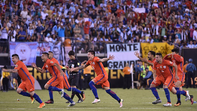 Victory for Chile, Heartbreak for Messi