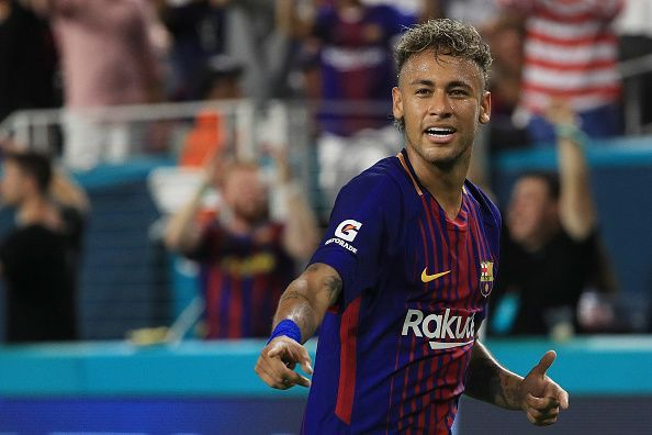 Neymar stars for Barca... for now