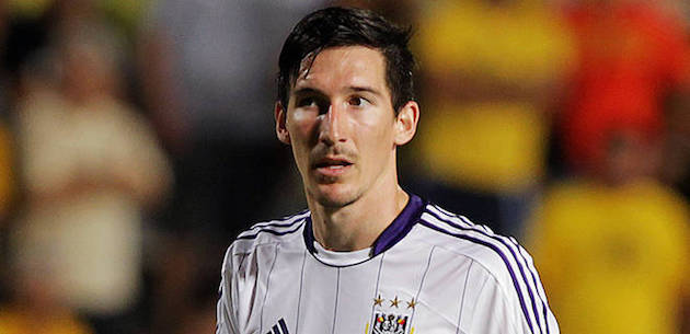 Anderlecht player Sacha Kljestan