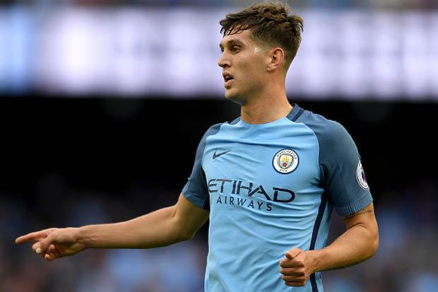 Man City defender John Stones