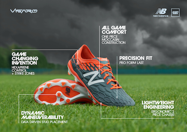 New Balance Visaro 2 tech sheet