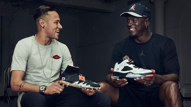 Neymar Collaborates with His Airness for Nike