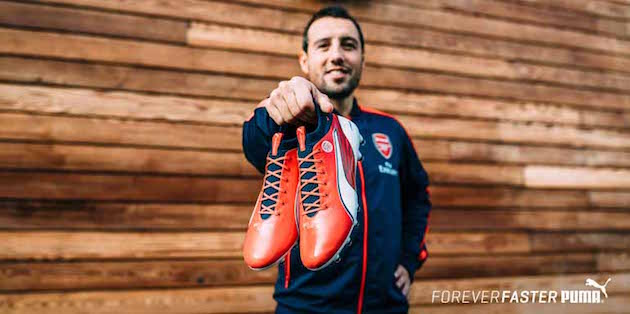 Puma evoTOUCH Catches Derby Fever