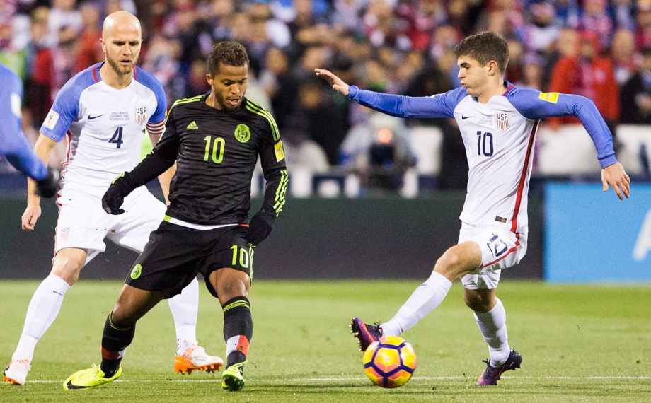 Pulisic, Bradley, and the USMNT try to take down Mexico