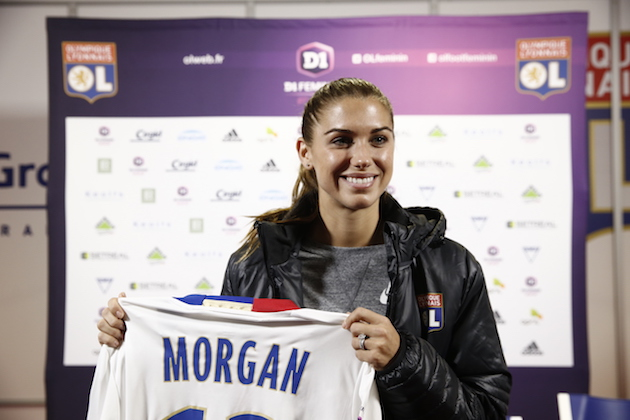 Alex Morgan's Move to Lyon and Her USWNT Future