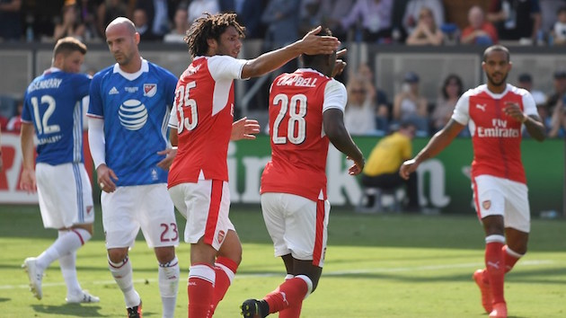 Arsenal Cruises Past MLS All-Stars