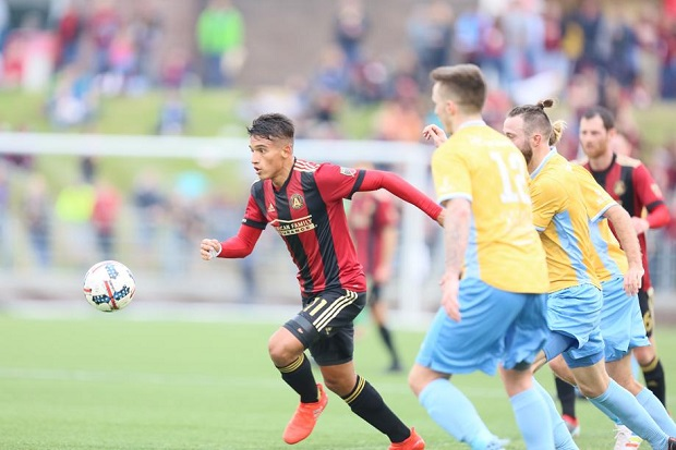 Atlanta United Makes On-Field Debut