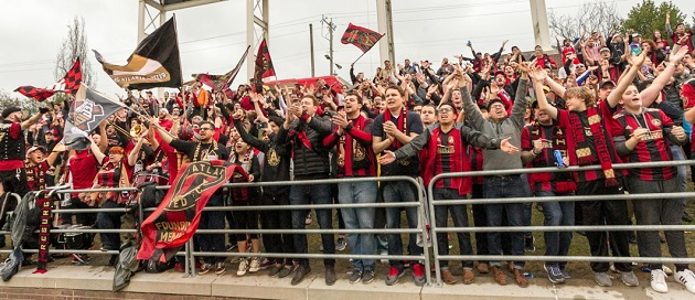 Atlanta United FC supporters