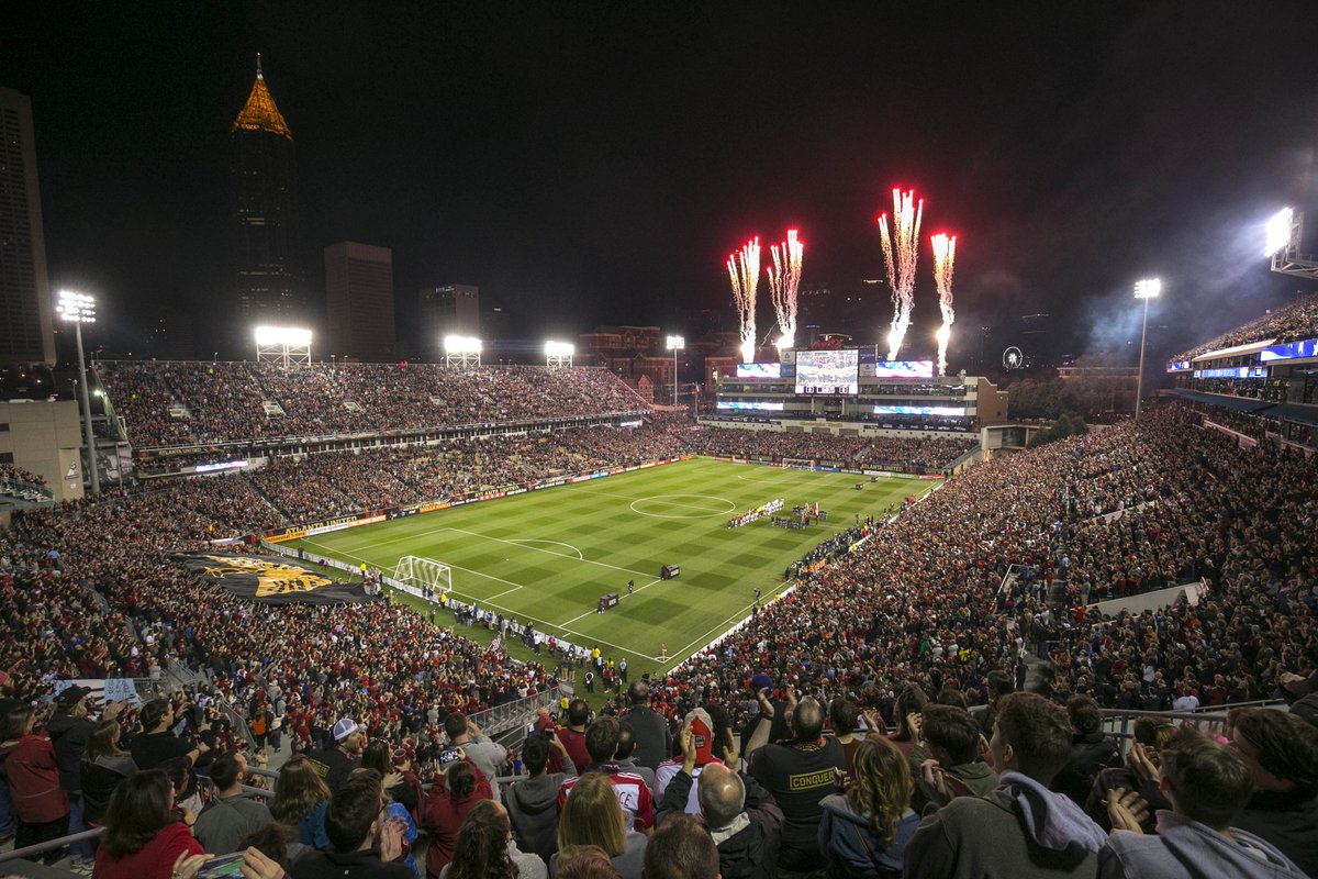 Atlanta United Sold Out Bobby Dodd Stadium