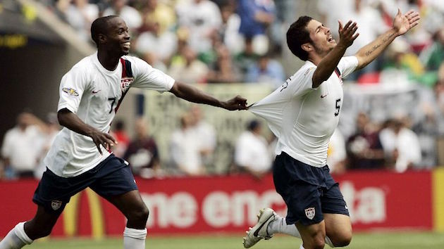 Americans Benny Feilhaber and Beasley