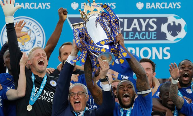 EPL Wrap-up: Leicester Lift Trophy After Routing Everton