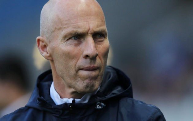 Swansea City manager Bob Bradley