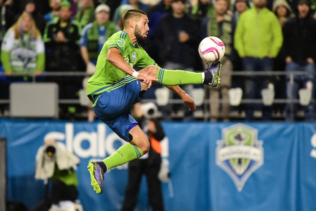 Seattle Sounders forward Clint Dempsey