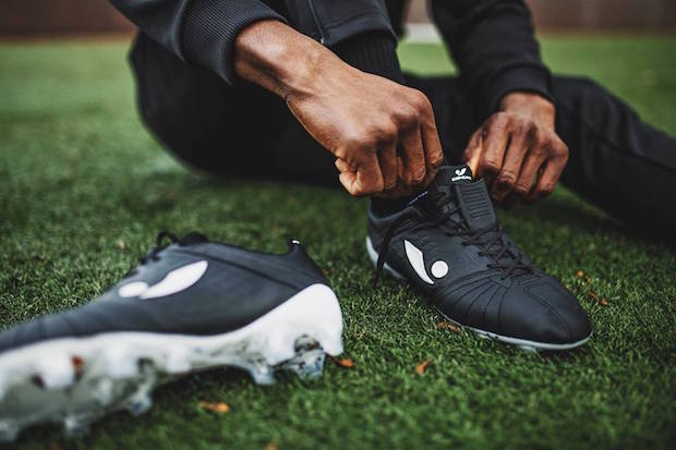 Concave Aura cleats on field
