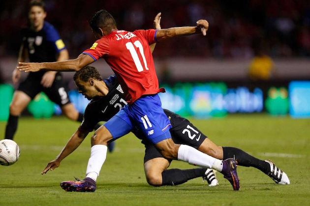 Costa Rica humiliates United States in WC Qualifying