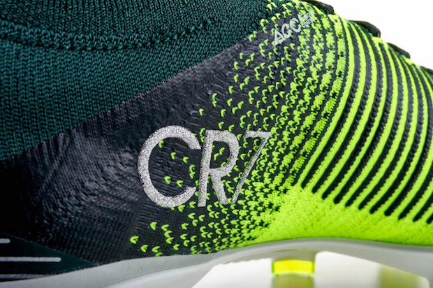 CR7 branding on Nike Superfly Discovery