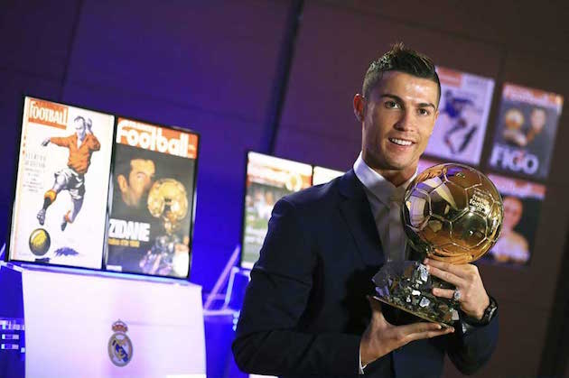 Cristiano Ronaldo's Remarkable 2016 Leads to Another Ballon d'Or