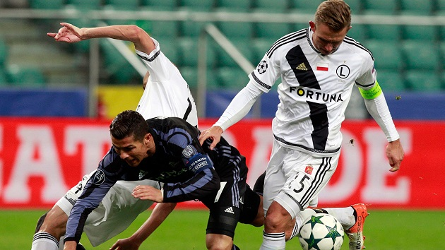 Legia Warsaw Nearly Stuns Real Madrid