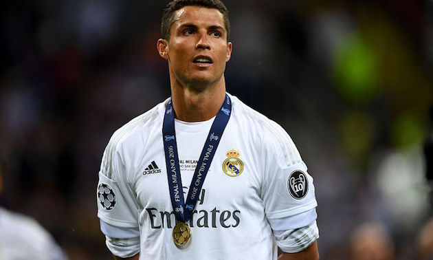 Real Madrid star Cristiano Ronaldo