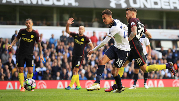 EPL Wrap-up: Tottenham Gives City First Loss; United Drops Points to Stoke