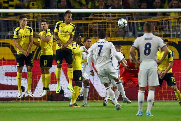 Real Madrid vs. Dortmund in Champions League
