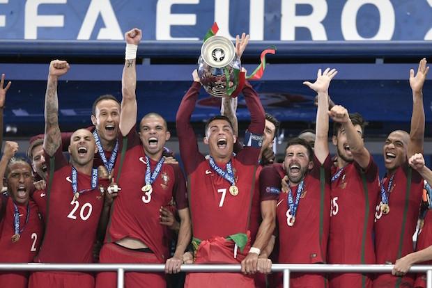 Ronaldo-less Portugal Take European Crown
