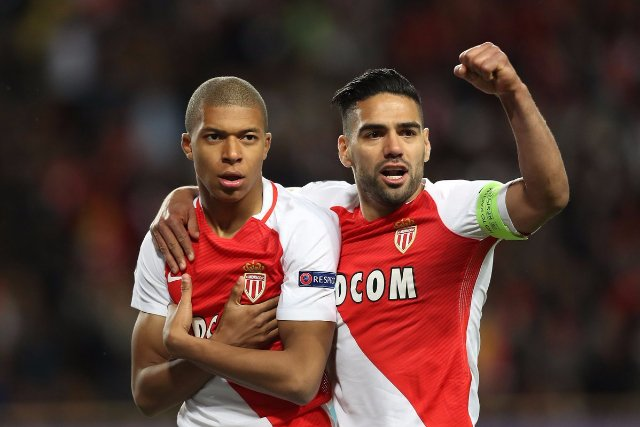 Falcao and Mbappe