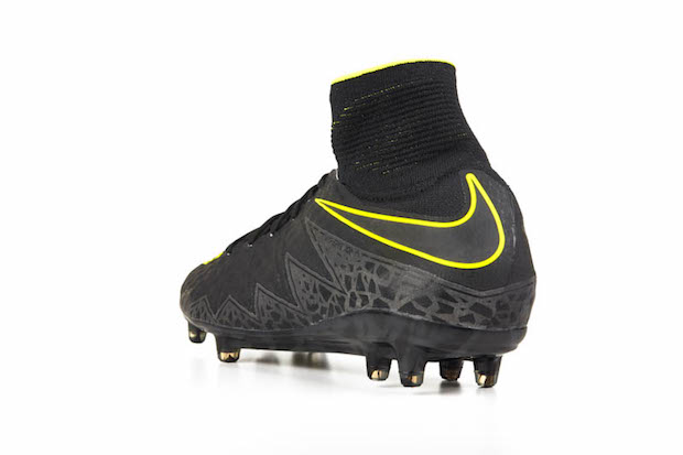 cc565679d7eec Mercurial boots. The Hypervenom Phantom carries over the Volt that  dominates the Spark Brilliance version