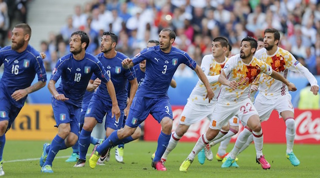 world cup italy vs spain