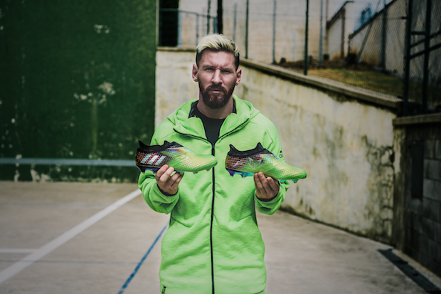 15f3d90bc adidas Reveals Messi Space Dust and Limited 10 10 Boots - The Instep
