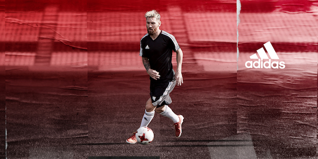 Leo Messi in adidas Pureagility Red Limit